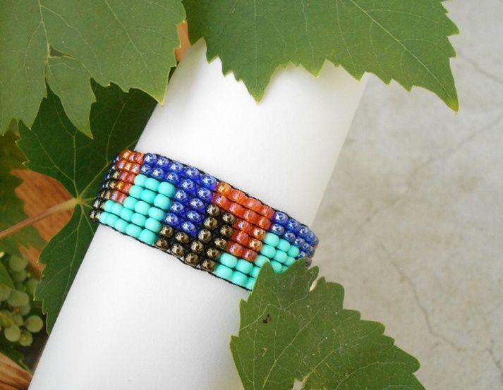 Barvičky+na+ruku+tkaný+barevný+náramek+velikost+UNI+roztahovací+délka+zataženého+na+doraz+zhruba+18+cm+jde+ještě+roztáhnout+vhodný+i…