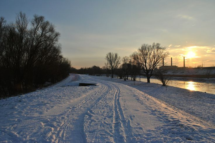 Afternoon on the river oder