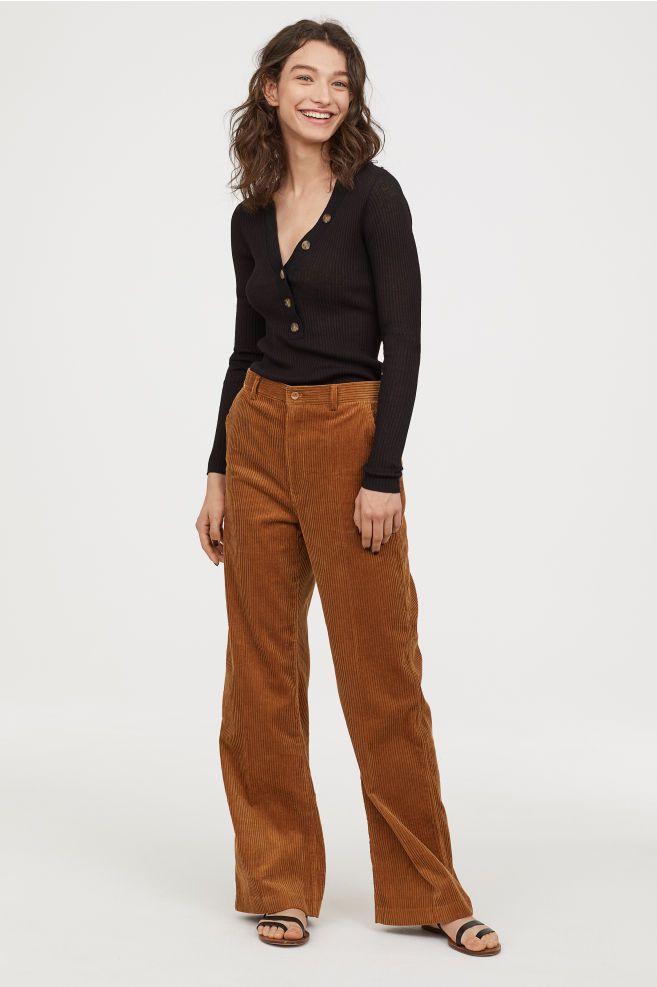 a18ff7fb9cc71 Wide-leg Corduroy Pants in 2019 | Trunk Club | Corduroy pants, Brown ...