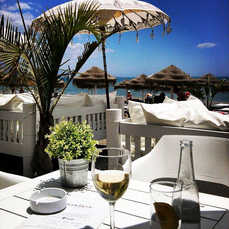 Mijn favoriete beach club Bere Bere in Torre del Mar, het ganse jaar open, een half uur rijden van Casa Las Peñas.