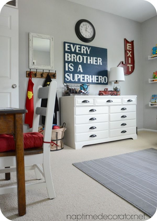 big boy room makeover - Boy Bedroom Colors