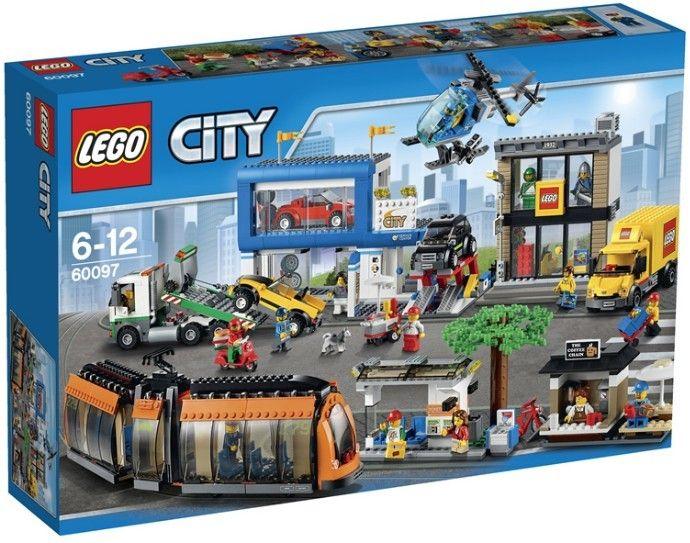 LEGO 60097 CITY PIAZZA DELLA CITTÀ - Tutte le ultime novità dal mondo LEGO in pronta consegna su Vendiloshop.it #lego #offerte #giocattoli #vendiloshop