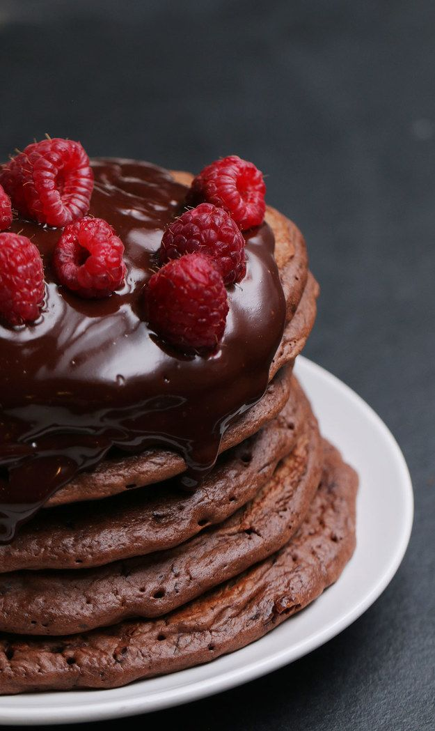 Chocolate Pancakes | These Chocolate Pancakes Are Basically The Work Of Modern Day Picasso