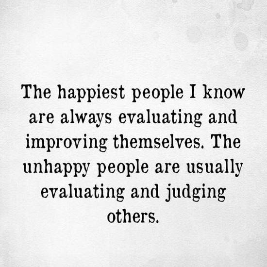 Difference of happy and unhappy people