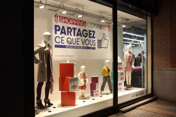 """""""Kiabi shopping connect (2012)"""" : utilisation de bracelets connectés dans un magasin Kiabi à Lille #KiabiShoppingConnect #SocialShopping"""