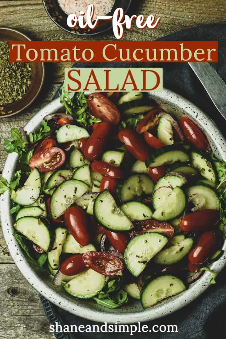 Jul 7, 2020 – Cucumber Tomato Salad recipe made with English cucumbers, cherry tomatoes, and red onion. It's tossed in a…
