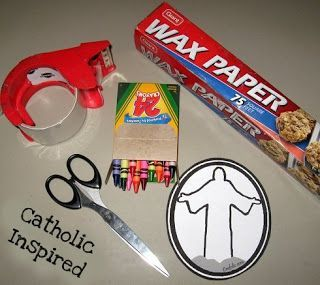 Transfiguration of Jesus ~ Craft | Catholic Inspired ~ Arts, Crafts, and Activities!