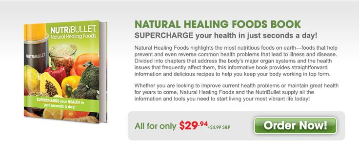 Natural Healing Foods Book