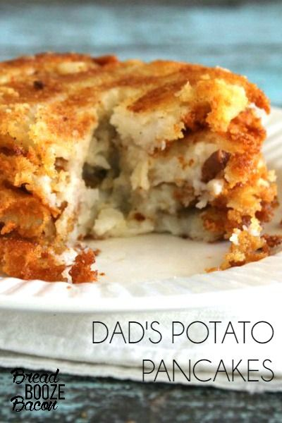 My Dad's Potato Pancakes were one of my favorite special breakfasts growing up!