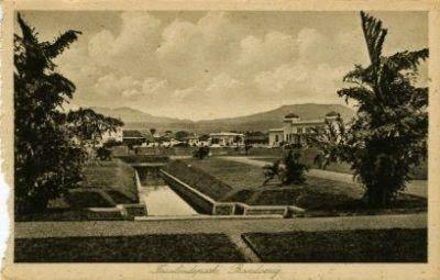 Insulinde Park or Taman Nusantara in 1920s