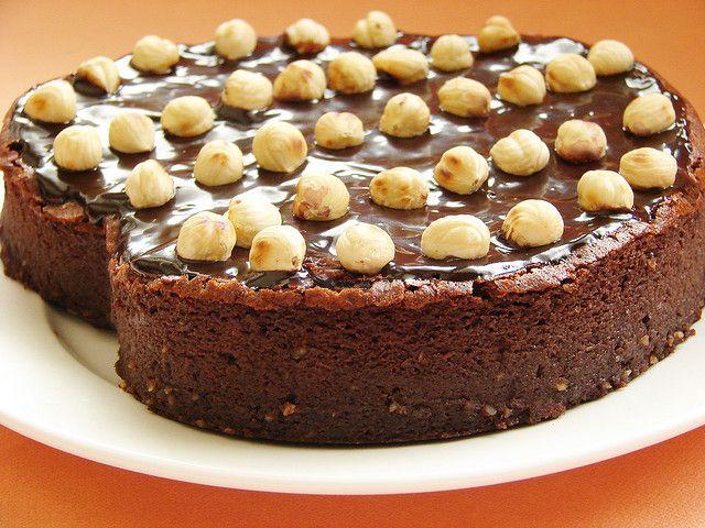 Nutella cake by Nigella Lawson. Recipe here: http://www.nigella.com/recipes/view/nutella-cake-158