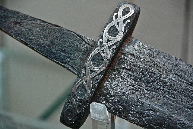Viking sword  (detail) - 9th/10th century
