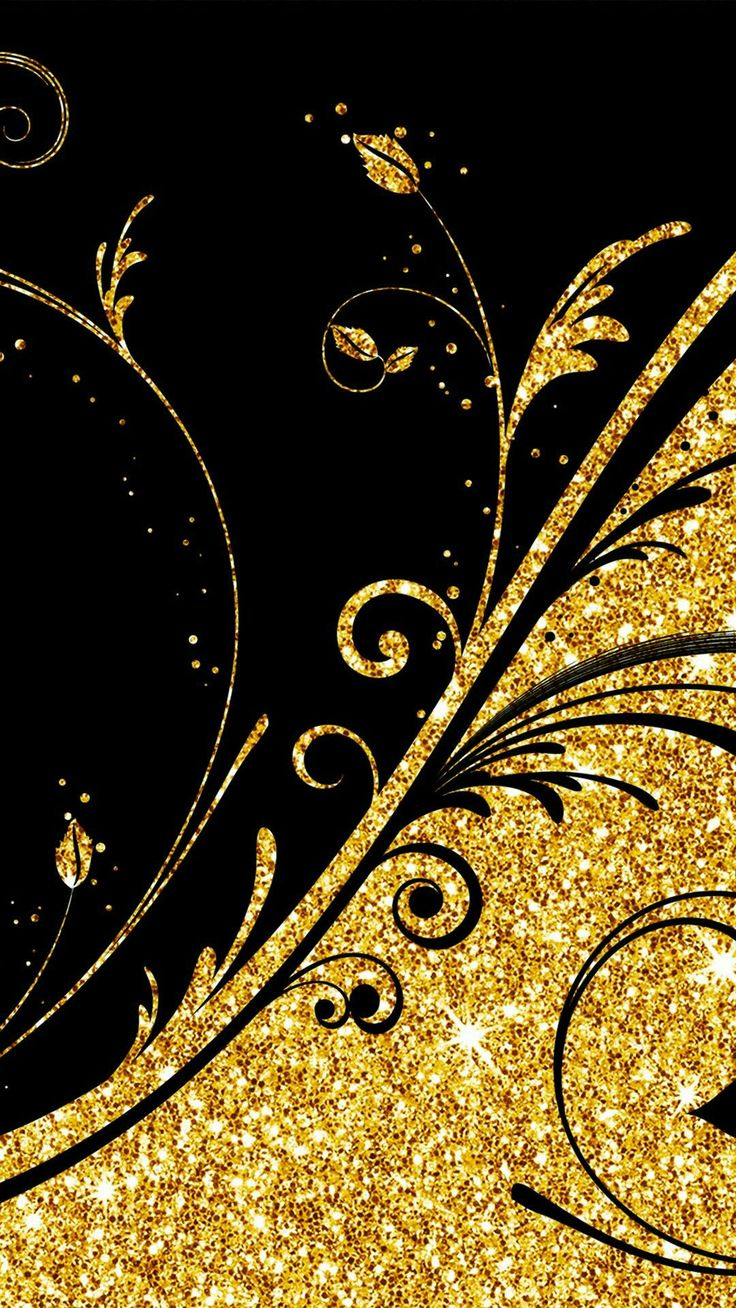 Latest Black & Gold Wallpaper... By Artist Unknown... 8