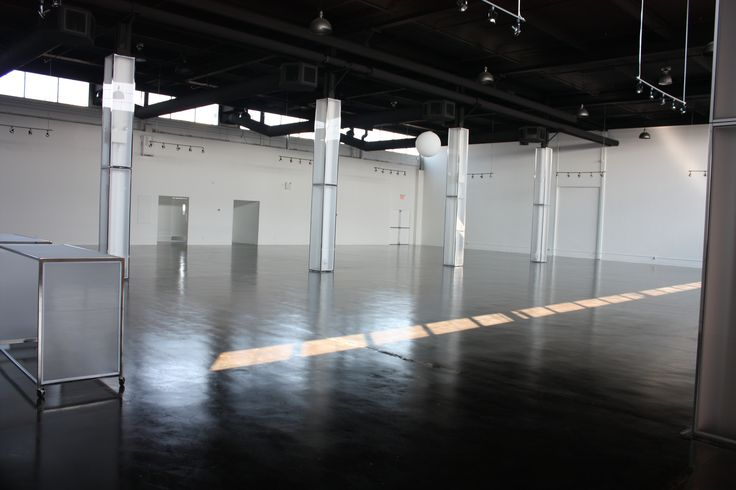 Our very empty space at The Warehouse Event Venue in Toronto