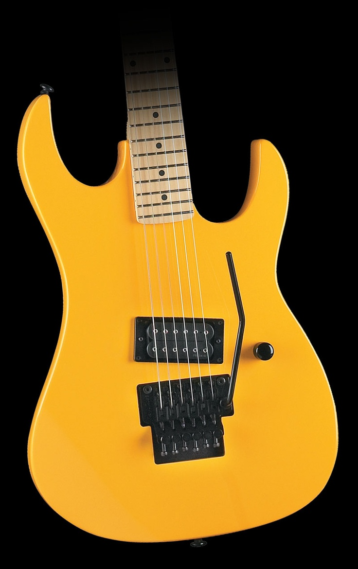 B.C. Rich Gunslinger Electric Guitar Yellow :: $  349.99