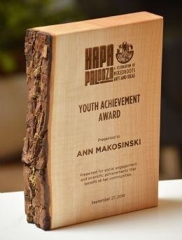 Vancouver Award (Portrait-Landscape) - Green Awards Crystal Awards, Green Awards and Glass Awards by Eclipse Awards
