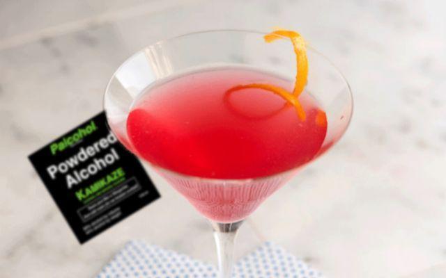 Arriva Palcohol. la bevanda alcolica che si prepara facilmente con una bustina #palcohol #alcol #in #bustina