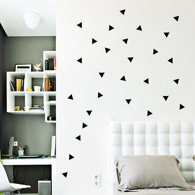 A-Lot-Of-Triangles-Wall-Decals-Sticker-Vinyl-Mural-Home-Art-Kids-Nursery-Decor