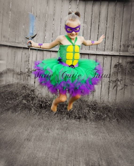 Teenage Mutant Ninja Turtle Tutu Dress Costume NB-8