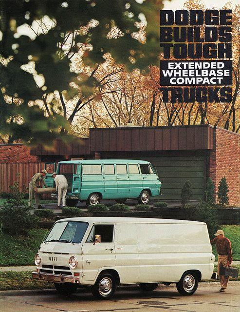 1967 Dodge A108 Extended Wheelbase Compact Trucks