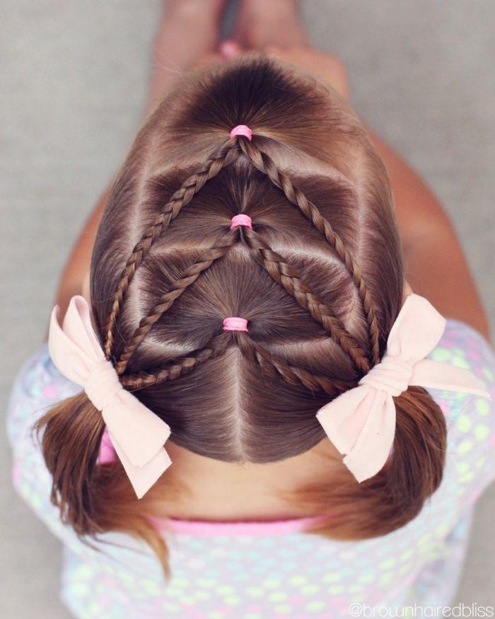 1001 Ideas Para Peinados Faciles Para Ninas Con Trenzas Y Coletas Peinados De Ninas Faciles Peinados Cabello Corto Nina Trenzas De Ninas
