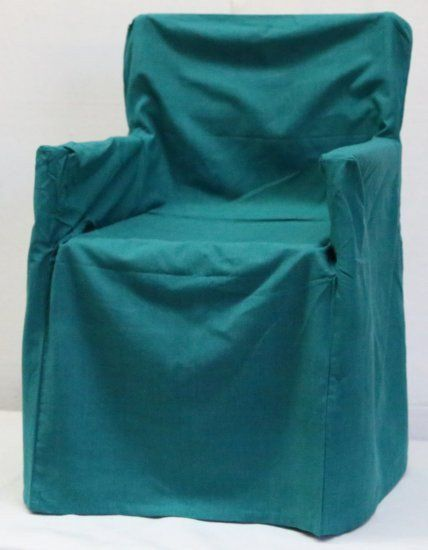 Teal Chair Cover