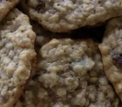 chewy oatmeal raisin cookies (subway)