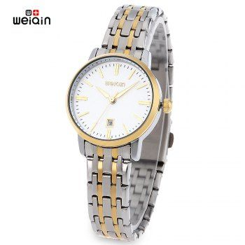 SHARE & Get it FREE | WeiQin W00137BL Female Quartz Watch Date Hardlex Mirror 3ATM WristwatchFor Fashion Lovers only:80,000+ Items·FREE SHIPPING Join Dresslily: Get YOUR $50 NOW!