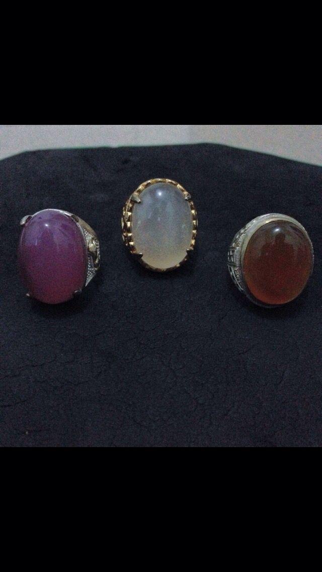 Lavender batu raja , biduri and  limau manis agates