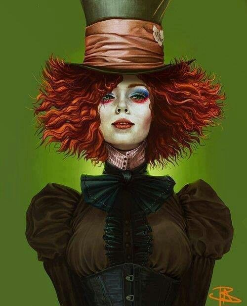 17 best images about alice in wonderland mad hatter - Maquillage chapelier fou ...