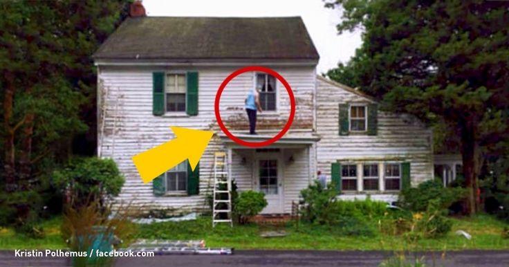 A dona desta velha casa iria ser multada. Mas alguém começou a reforma-la em segredo