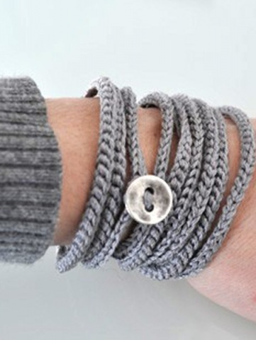Bileklik ModasıIdeas, Vintage Buttons, Wraps Bracelets, Crochet Bracelets, Wrap Bracelets, Crochet Wraps, Bracelets Necklaces, Diy, Crocheted Bracelets
