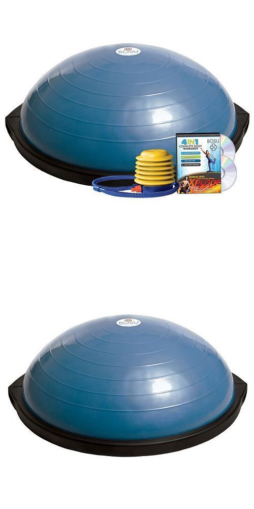 Balance Trainers 179803: Bosu Balance Trainer And 4-Disc Dvd Set ~~ Blue ~~ Brand New !!! -> BUY IT NOW ONLY: $90.95 on eBay!
