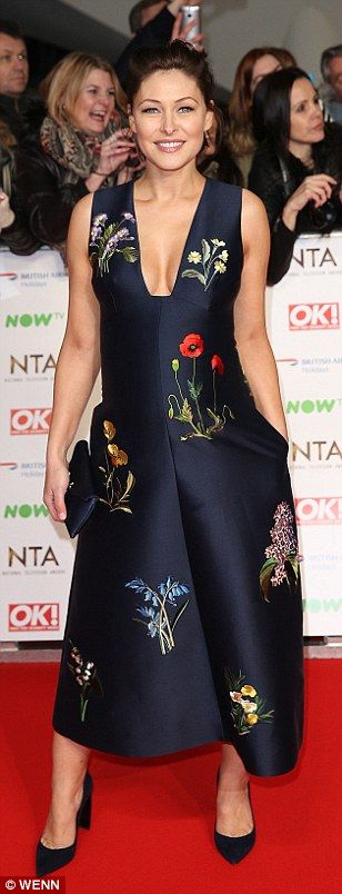 Michelle Keegan, Emma Willis and Jorgie Porter set the bar high in the glamour stakes as they rock the National Television Awards red carpet in stylish frocks | Daily Mail Online