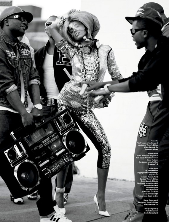 "v magazine ""queen of hip hop"""
