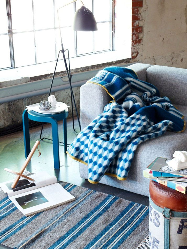 The Dreamy Norwegian Blankets Of Røros Tweed | http://www.yatzer.com/Roros-Tweed-norway