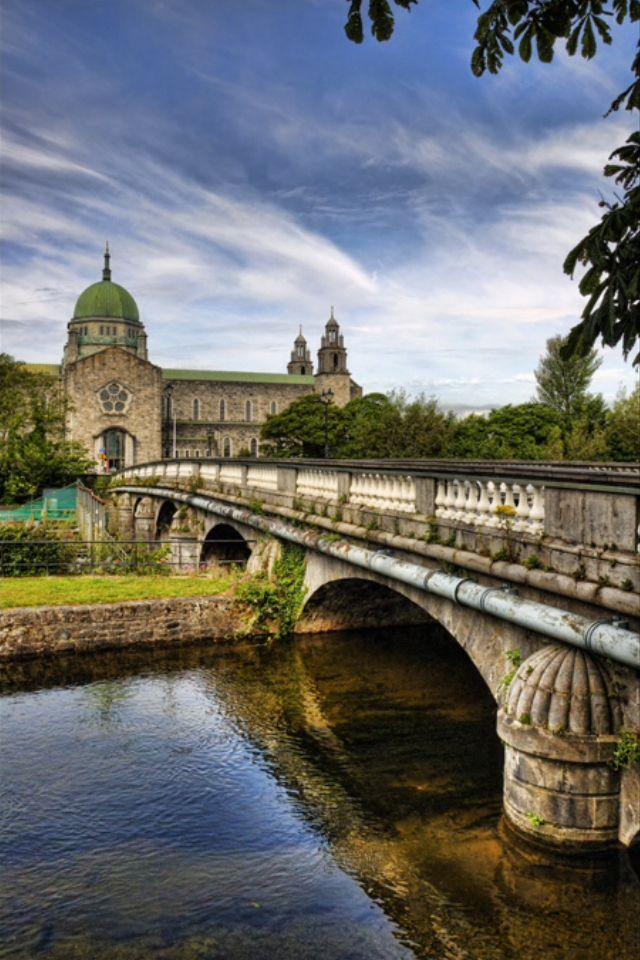 Salmon Weir Bridge, Galway, Ireland