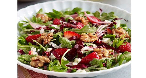 Avokado ve Rokalı Ceviz Salatası   Mutfakta Yemek Tarifleri