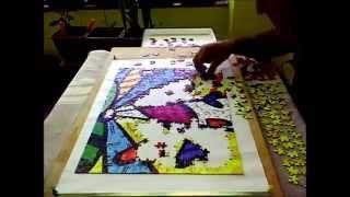 Largest Jigsaw Puzzle 32000   quebra cabeça 500 peças 1 dia 04:02