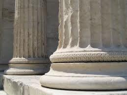 COLUMNA: Elemento vertical de forma cilíndrica, que trabaja como apoyo sustentante en las construcciones, y/o como elemento decorativo.
