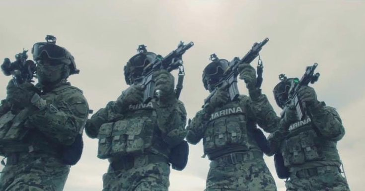 Mexican Navy Special Forces [1020 x 534]