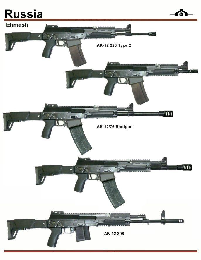 The Armed Novelist : Izhmash AK-12 Variants Interestingly enough,...