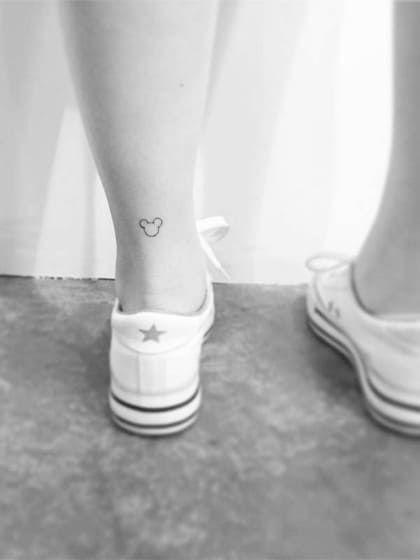 Disney-Tattoos - Micky Maus