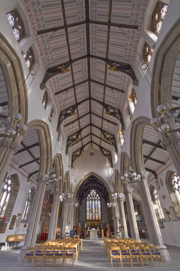 The Minster Church of St John the Evangelist, Preston, Lancashire, England