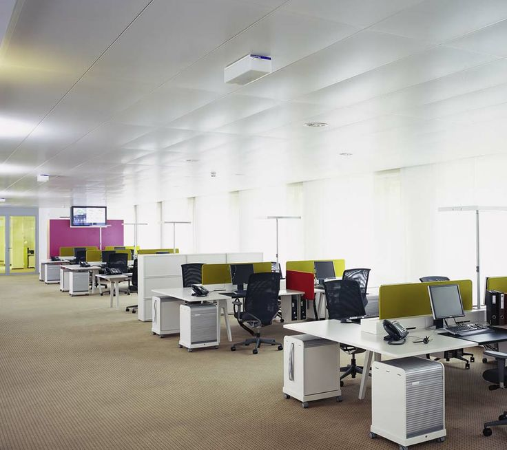 The Open Space is a classic open plan