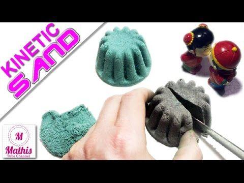DIY KINETIC SAND - Kinetischer Sand selber machen - Einfache Anleitung - YouTube