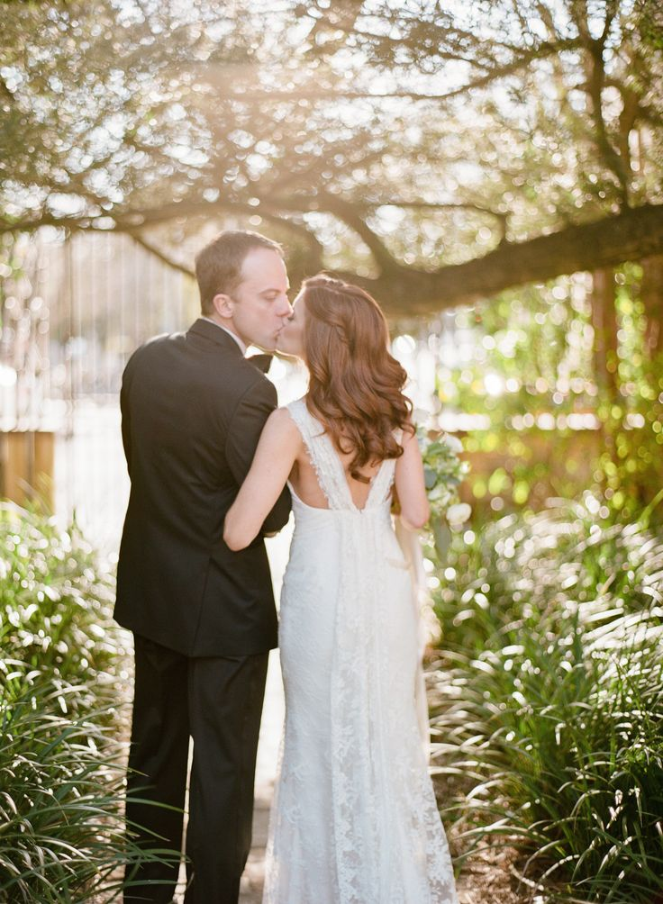 Alison & Ramsey's perfect southern wedding at the historic William Aiken House in Charleston, SC | Real wedding featured on Style Me Pretty Southeast | Photograph by Marni Rothschild Pictures