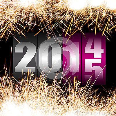 Feliz Año Nuevo 2015. Happy New Year 2015.