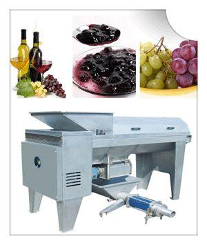 how to remove grape destem with grape destemmer