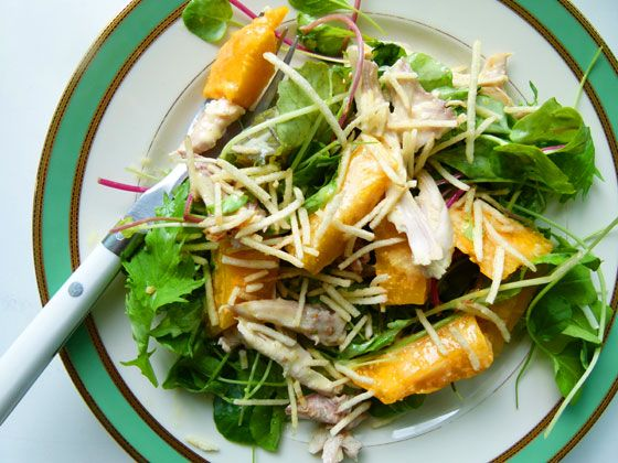 Simplesmente Delícia » Salada de Frango e Manga com Molho de Curry
